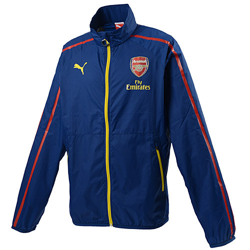 Puma Arsenal FC Anthem Jkt - Blue