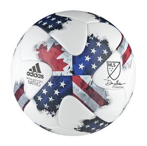 adidas MLS OMB ball - Red/Wht/Blue