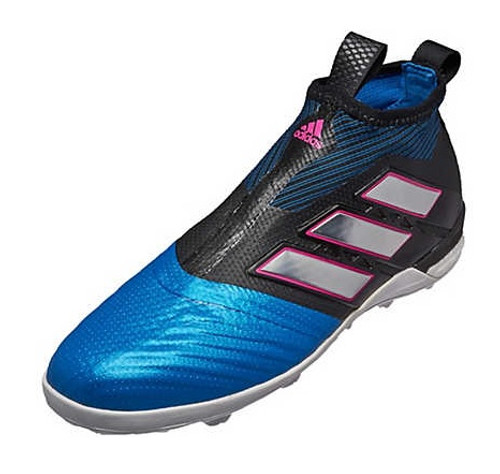 adidas ACE TANGO 17+ PURECONTROL TF - Black/White/Blue (122218)