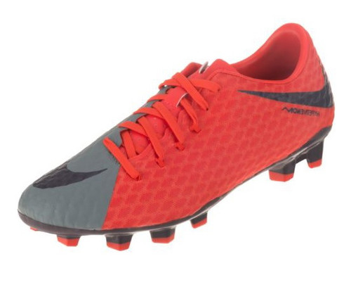 Nike Wmns Hypervenom Phelon III FG - Cool Grey/Purple Dynasty/Max Orange (22517)