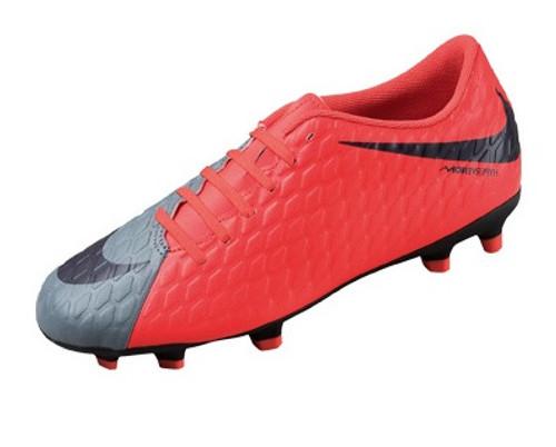Nike Wmns Hypervenom Phade III FG - Cool Grey/Purple Dynasty/Max Orange RC (111518)