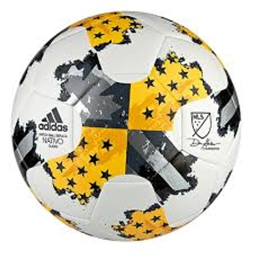 adidas 17MLS Glider Ball - White/Gold/Dark Onix (4617)