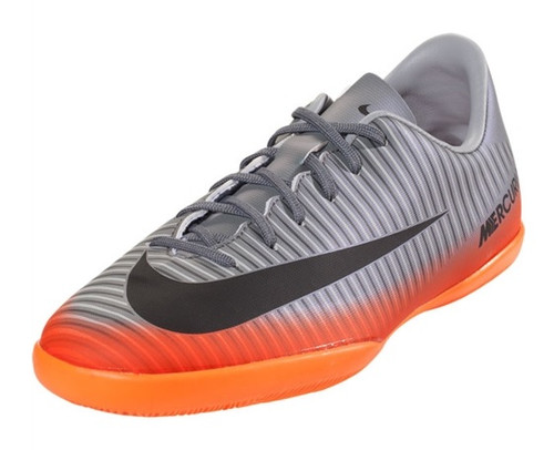 Nike Jr MercurialX Victory 6 CR7 IC - Cool Grey/Metallic Hematite  SD(011919)