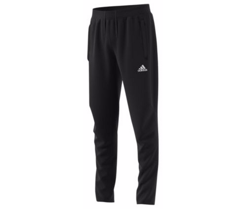 adidas Youth Tiro 17 Training Pant - Black/Black