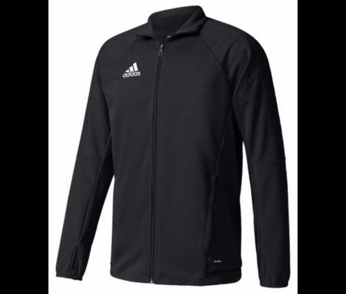 adidas Tiro 17 Training Jacket - Black/Black