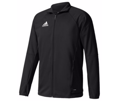 adidas Youth Tiro 17 Training Jacket - Black/Black
