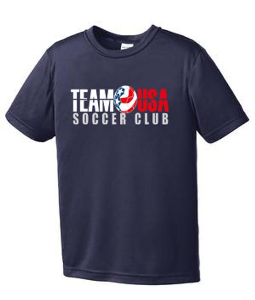 Team USA Youth Practice Tee - Navy