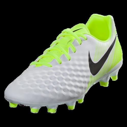 Nike Magista Onda II FG - White/Black/Volt/Pure Platinum SD (100518)
