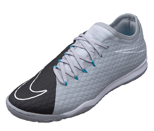 Nike HypervenomX Finale II IC RC - Wolf Grey/Black/Chlorine Blue (120318)