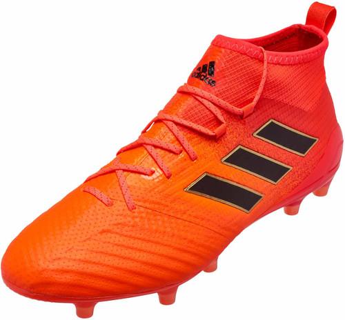Adidas Ace 17.1 FG - Solar Orange/Core Black/Solar Red (51618)