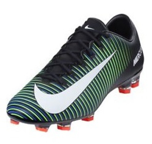 Nike Mercurial Veloce III FG - Black/White/Electric Green (100518)