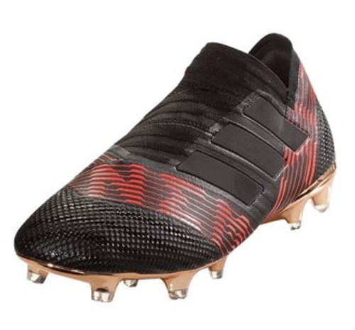 Adidas Nemeziz 17+ FG - Core Black/Solar Red (110618) RC