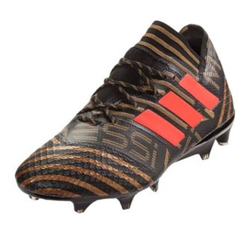 Adidas Nemeziz Messi 17.1 FG - Core Black/Solar Red/Tectile Gold Metallic (12217)