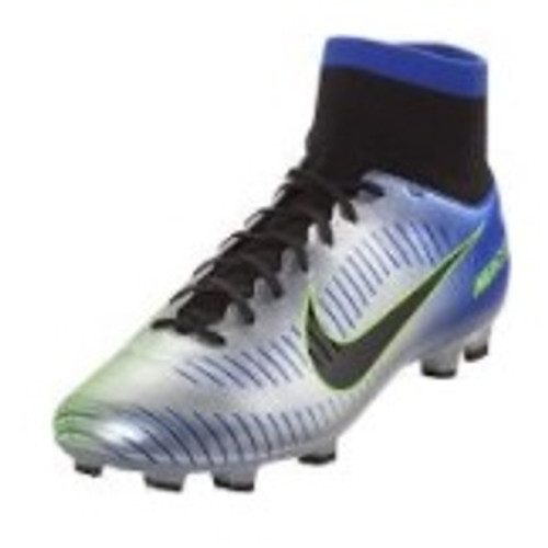 Nike Mercurial Victory VI DF NJR FG - Racer Blue/Black/Chrome/Volt (102518) RC