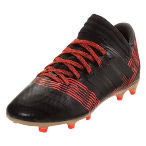 Adidas Nemeziz 17.3 FG J - Core Black/Black/Infrared (01318)