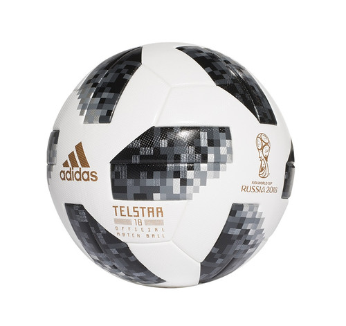 Adidas Fifa World Cup Mini Ball - White/Black/Metallic Silver