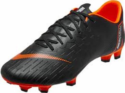 Nike Vapor 12 Pro FG - Black/Total Orange/White (11108)