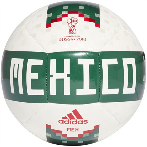 Adidas Mexico World Cup 2018 Ball - Green/White (52818)