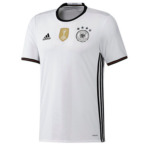 Adidas Germany Jersey 2016/17 -White/Black (11218)