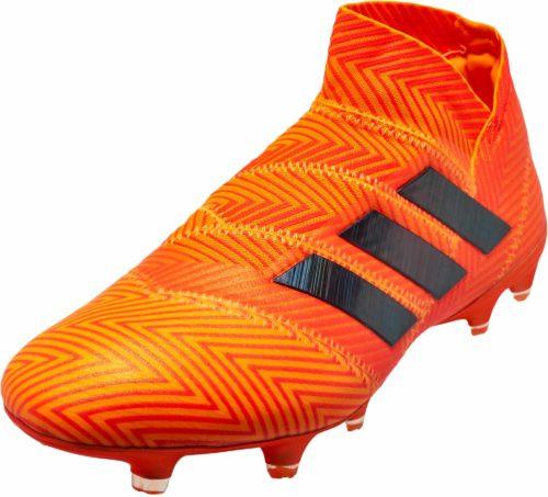 Adidas Nemeziz 18+ FG - Zest/Core Black/Solar Red RC (110618)