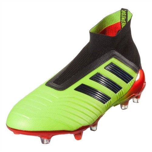 Adidas Predator 18+ FG - Solar Yellow/Core Black/Solar Red (110618)