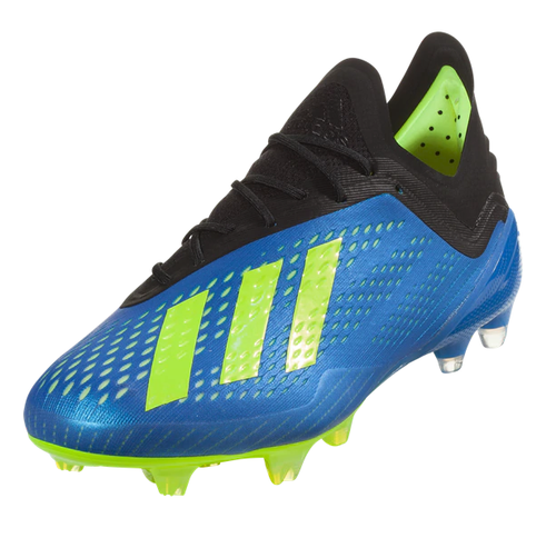 Adidas X 18.1 FG - Football Blue/Solar Yellow/Core Black RC (110718)