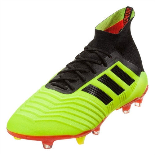 Adidas Predator 18.1 FG - Solar Yellow/Core Black/Solar Red (91518)