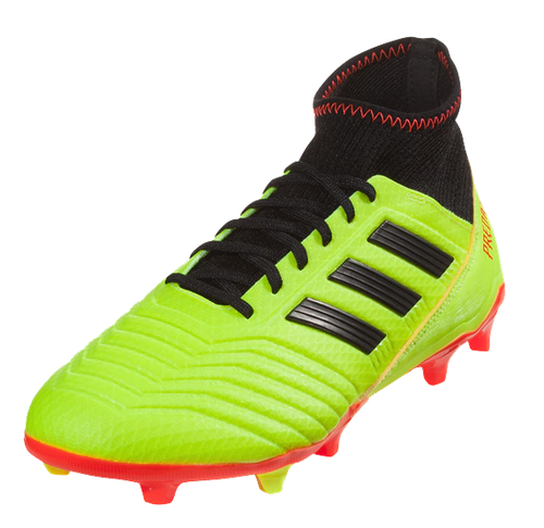 Adidas Predator 18.3 FG - Solar Yellow/Core Black/Solar Red (91518)