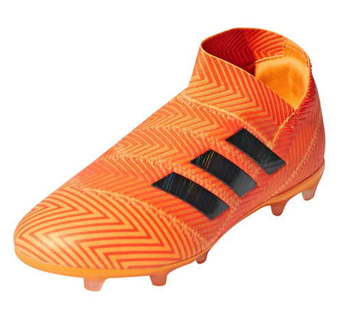 Adidas Nemeziz 18+ FG J - Zest/Core Black/Solar Red RC (91518)