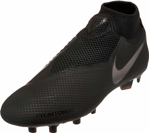 Nike Phantom VSN Pro DF FG - Black/Black (10518)