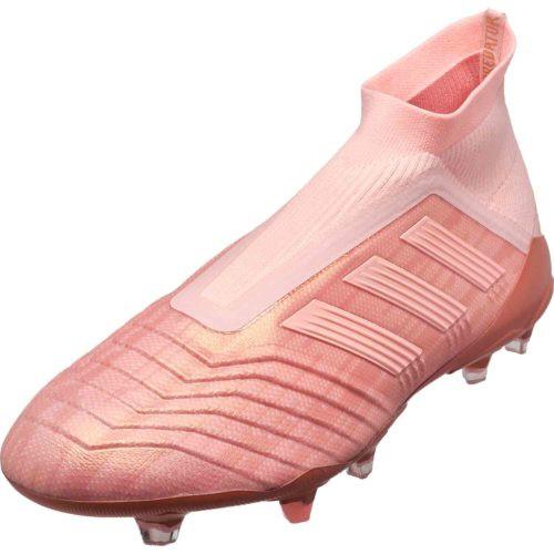 Adidas Predator 18+ FG - Clear Orange/Clear Orange/Trace Pink (110618)