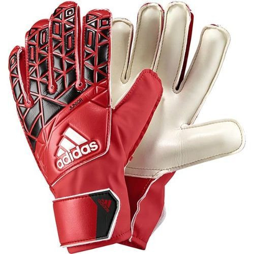 Adidas Ace Junior GoalKeeper Gloves -Red/Black/White (10918)