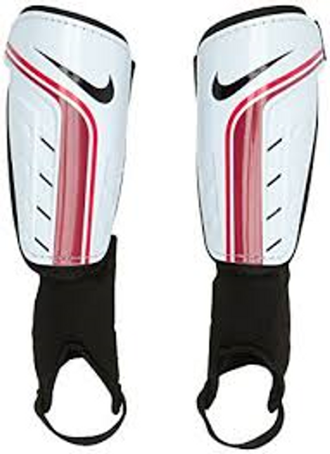 Nike Shield Shin Guard - White/Red (101518)