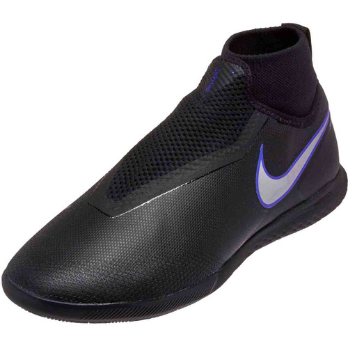 Nike React Phantom VSN Pro DF IC -Black/Metallic Silver (101518)