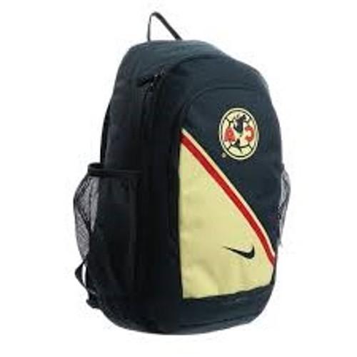 Nike Club America Stadium Backpack - Armory Navy/Lemon Chiffon (101618)