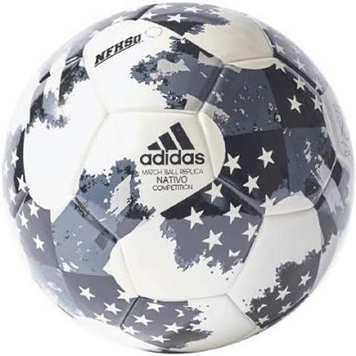 Adidas 17 NFHS MLS Top Traning Soccer Ball -White/Black (102218)