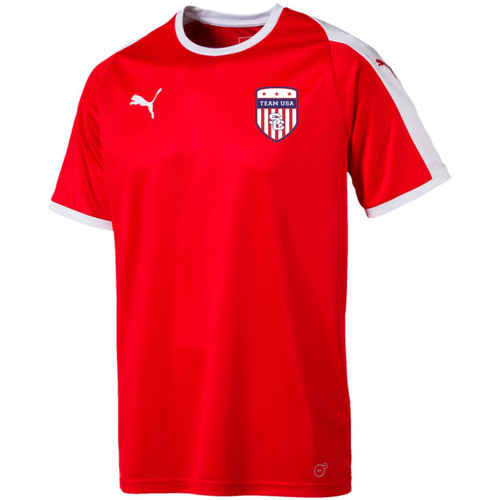Team USA Away Jersey Youth - Red/White(102718)