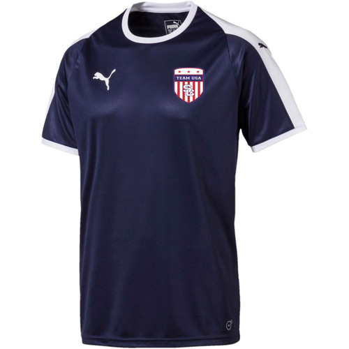 Team USA Home Jersey Youth - Navy/White(102718)