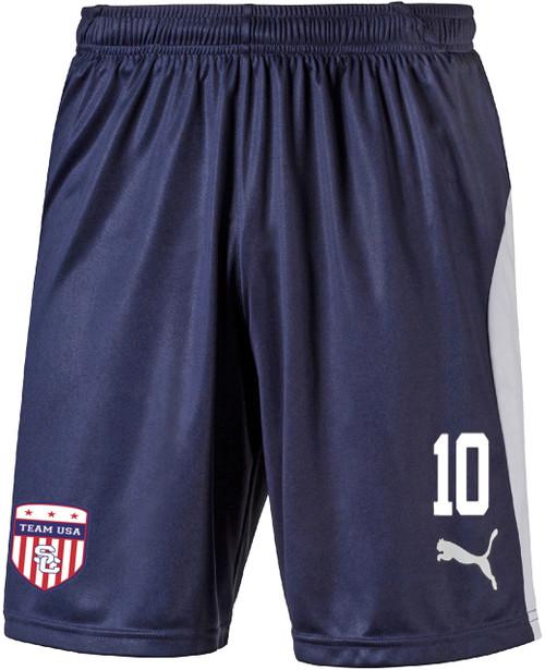 Team USA Home Shorts - Navy/White (102718)