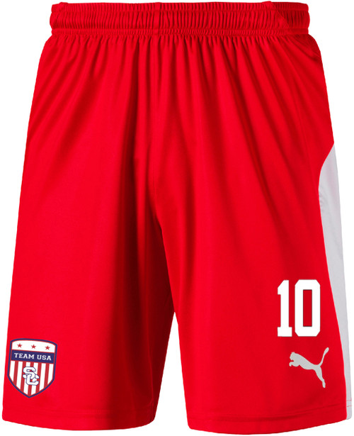 Team USA Away Shorts - Red/White (102718)