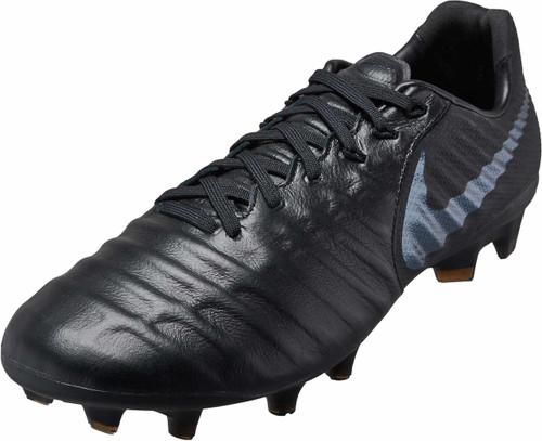 Nike Tiempo Legend 7 Pro FG -Black/Black (11518)