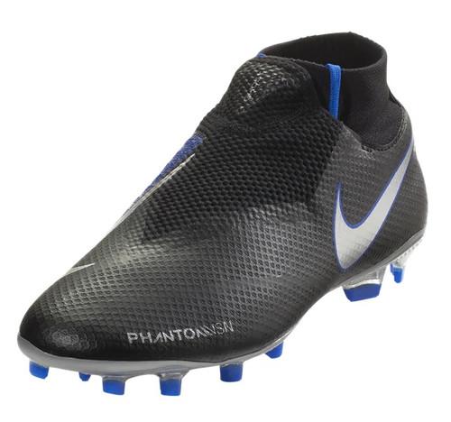 Nike Phantom Vision Pro DF FG - Black/Metallic Silver/Racer Blue (121318)