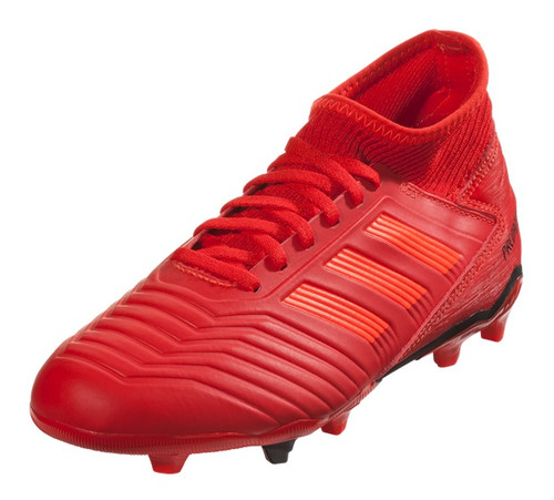 Adidas Predator 19.3 FG Jr - Active Red/Solar Red/Core Black (111918)