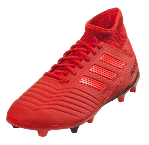 Adidas Predator 19.3 FG - Active Red/Solar Red/Core Black RC (11819)
