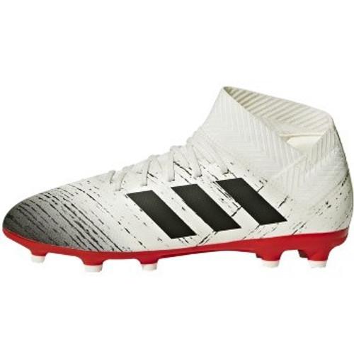 Adidas Nemeziz 18.3 FG Junior OWHITE/CBLACK/ACTRED  (113018)