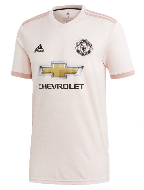 Adidas Manchester United Away Jersey - Icey Pink/Trace Pink/Black (10419)