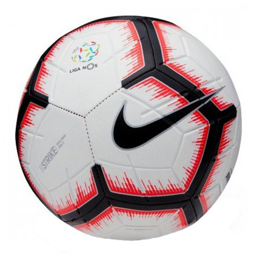 Nike Strike Liga NOS Soccer Ball - White/Bright Crimson/Black (10719)
