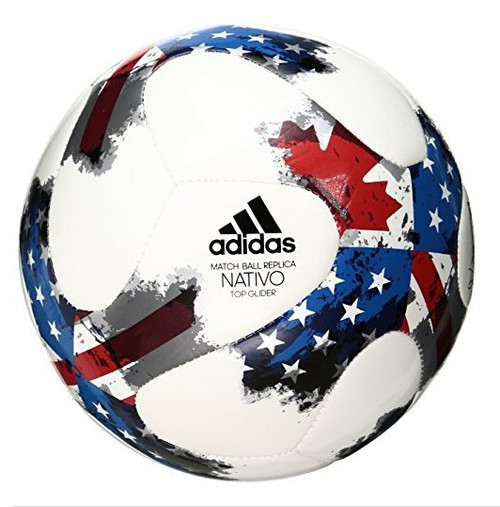 Adidas 2017 MLS Top Glider Match Ball Replica - Red/White/Blue (10719)
