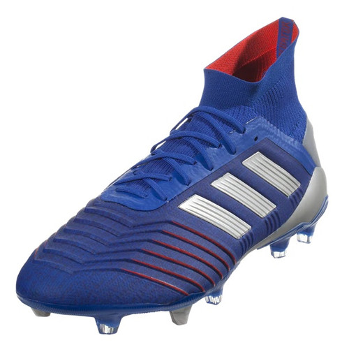 Adidas Predator 19.1 FG - Bold Blue/Silver Metallic/Football Blue (012419)