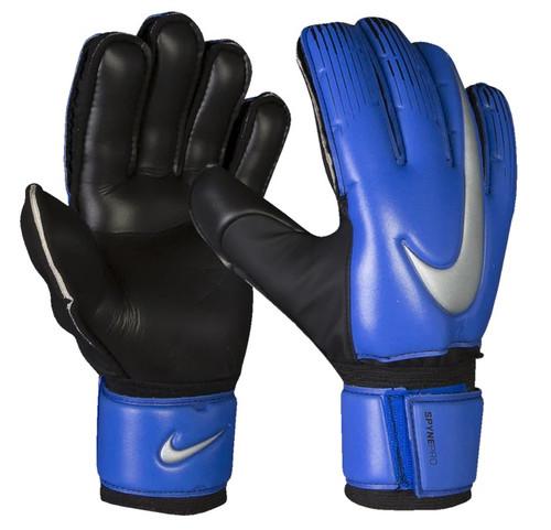 Nike Spyne Pro GK Gloves - Black/Racer Blue/Metallic Silver (012919)